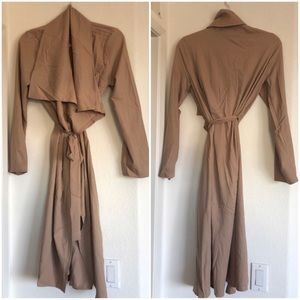 New Waterfall Duster Long Line Cardigan